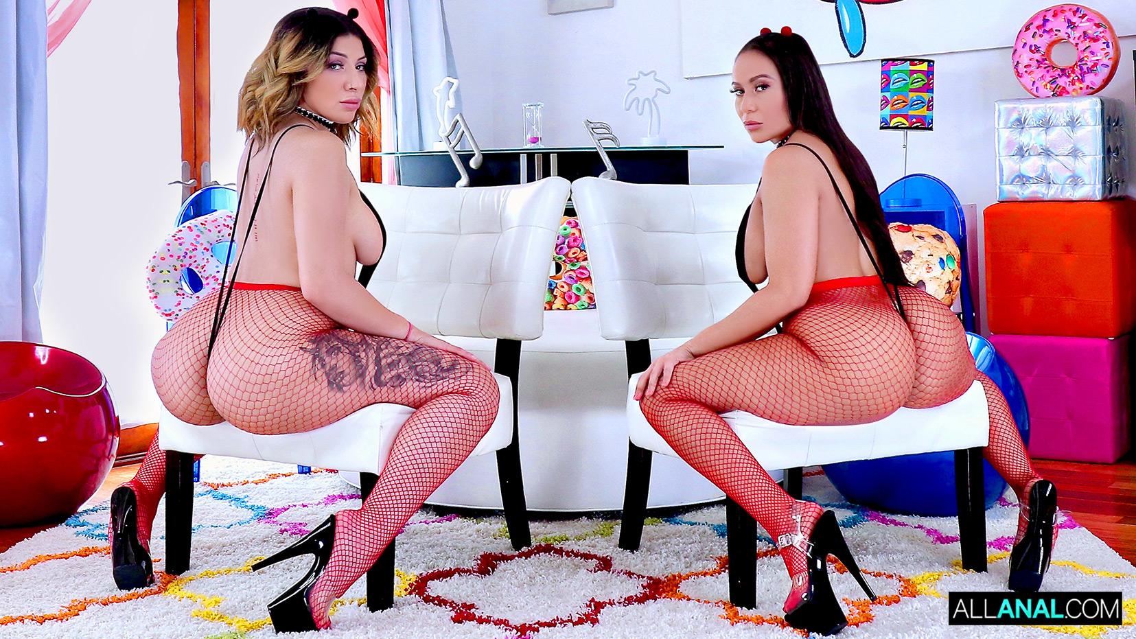 AllAnal.com - Big Booty Madness with Valentina and Carmela