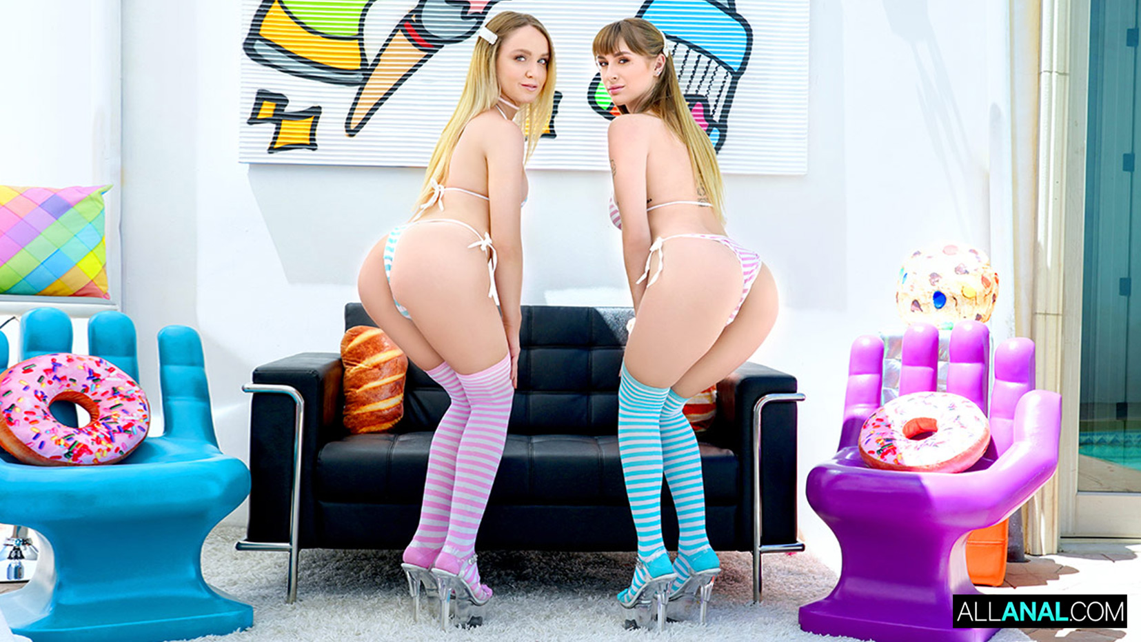 Download AllAnal.com - Ass Gaping Adventures with Nicole & Angel
